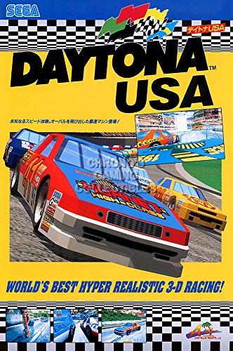 "Price comparison product image CGC Huge Poster - Daytona USA Sega Saturn Dreamcast GLOSSY FINISH - OTH495 (24"" x 36"" (61cm x 91.5cm))"