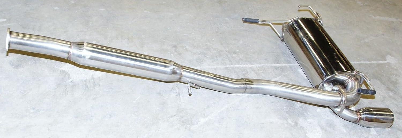 Catback Exhaust Muffler fit 03-07 Nissan 350Z Track//Touring Coupe 2D V6 VQ35DE