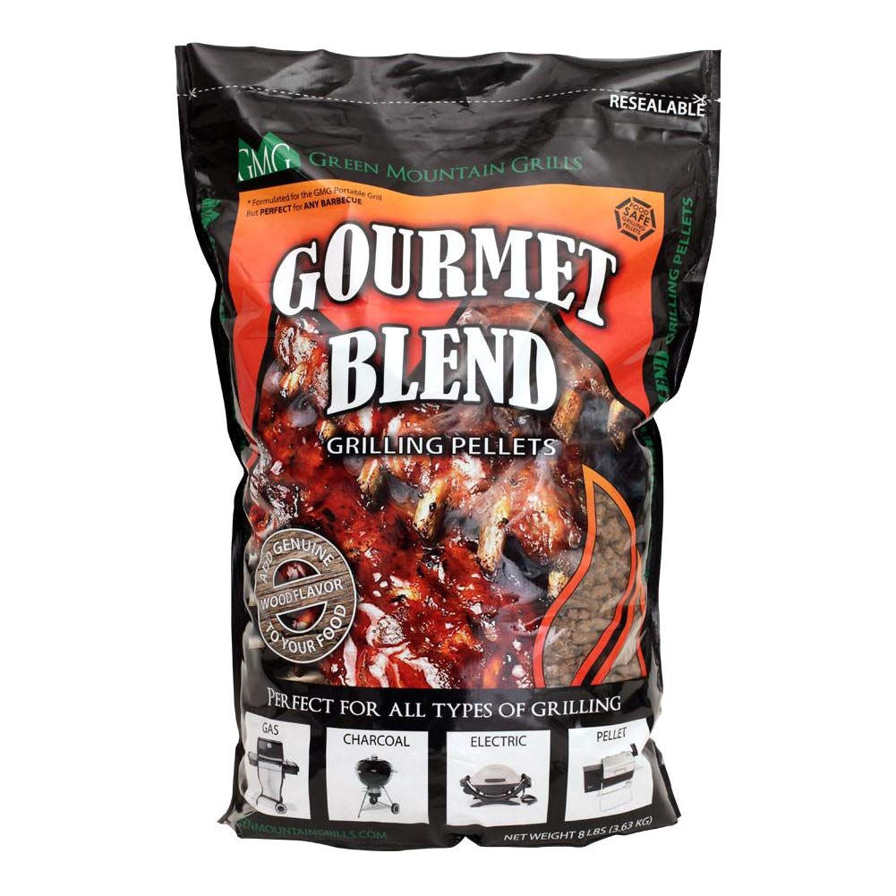 Green Mountain Grills Gourmet Pellet Blend, 8 Lbs. by Green Mountain Grills