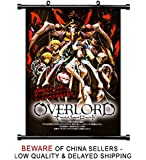 Overlord Anime Fabric Wall Scroll Poster (32 x 46) Inches