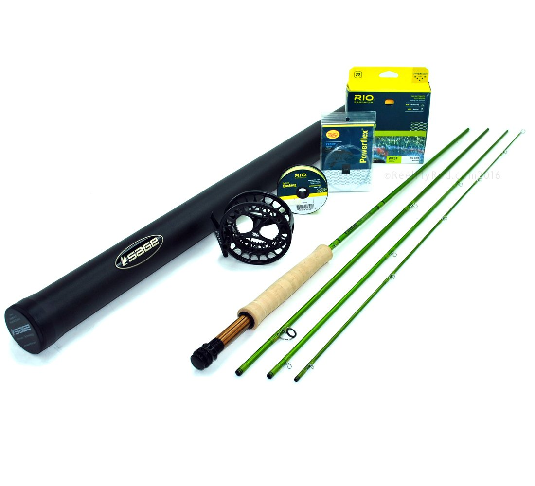 Sage MOD 590-4 Fly Rod Outfit (5wt, 9'0 4pc) by Sage