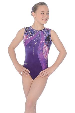 2d5d5a47d1d9 The Zone Twilight Sleeveless Gymnastics Leotard  Amazon.co.uk ...