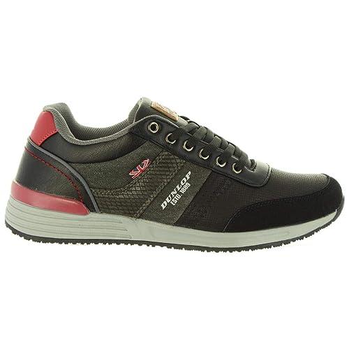 Zapatillas Deporte de Hombre DUNLOP 35291 26 Negro: Amazon.es: Zapatos y complementos