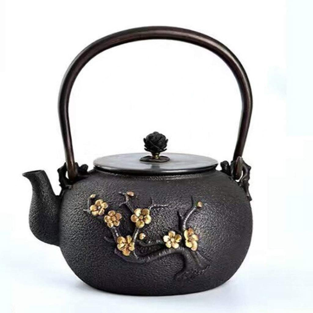 Teapot Kung Fu Tea, Export of Cast Iron, Cast Iron Pot, Boil Tea, Tea Sets, Home Decoration Kit, You Can Use All Kinds of Stoves (Color : Natural) by North cool