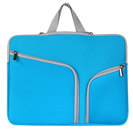 c86f07ea0c5a Supamoden Neoprene Laptop Sleeves Double Pockets Laptop Bag Absorb ...