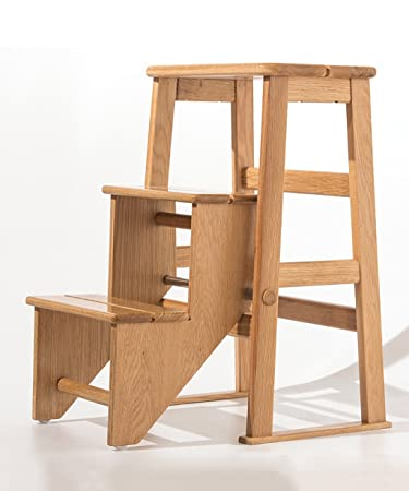 Trittleiter Holz amazon de wufeng hockerleiter stuhl leiter tritt kleine leiter