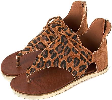 nobrand Women Summer Sandals Leopard