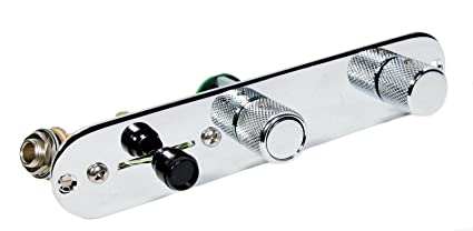 Amazon.com: 920D Fender Deluxe Telecaster Loaded 3 Way Control Plate on