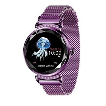 AASSXX Reloj inteligenteNueva Moda Lady Smart Watch 3D Rhinestone ...