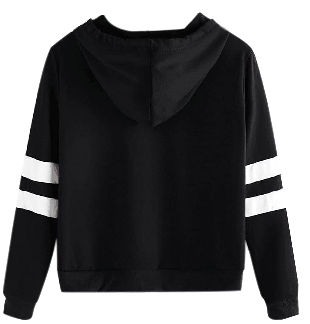 Honey GD Women Drawstring Pineapple Print Hoodies Sweater Pullover