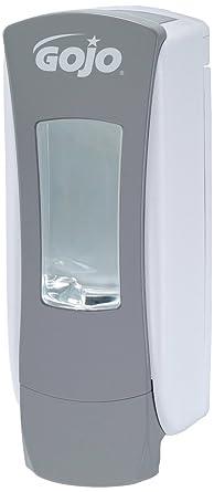 Gojo ADX-12 - Dispensador de jabón color gris y blanco