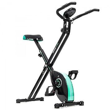 TSC – Pedales bicicleta plegable Ceco X-Bike magnético pulsomètre pantalla LCD con pulsomètre y