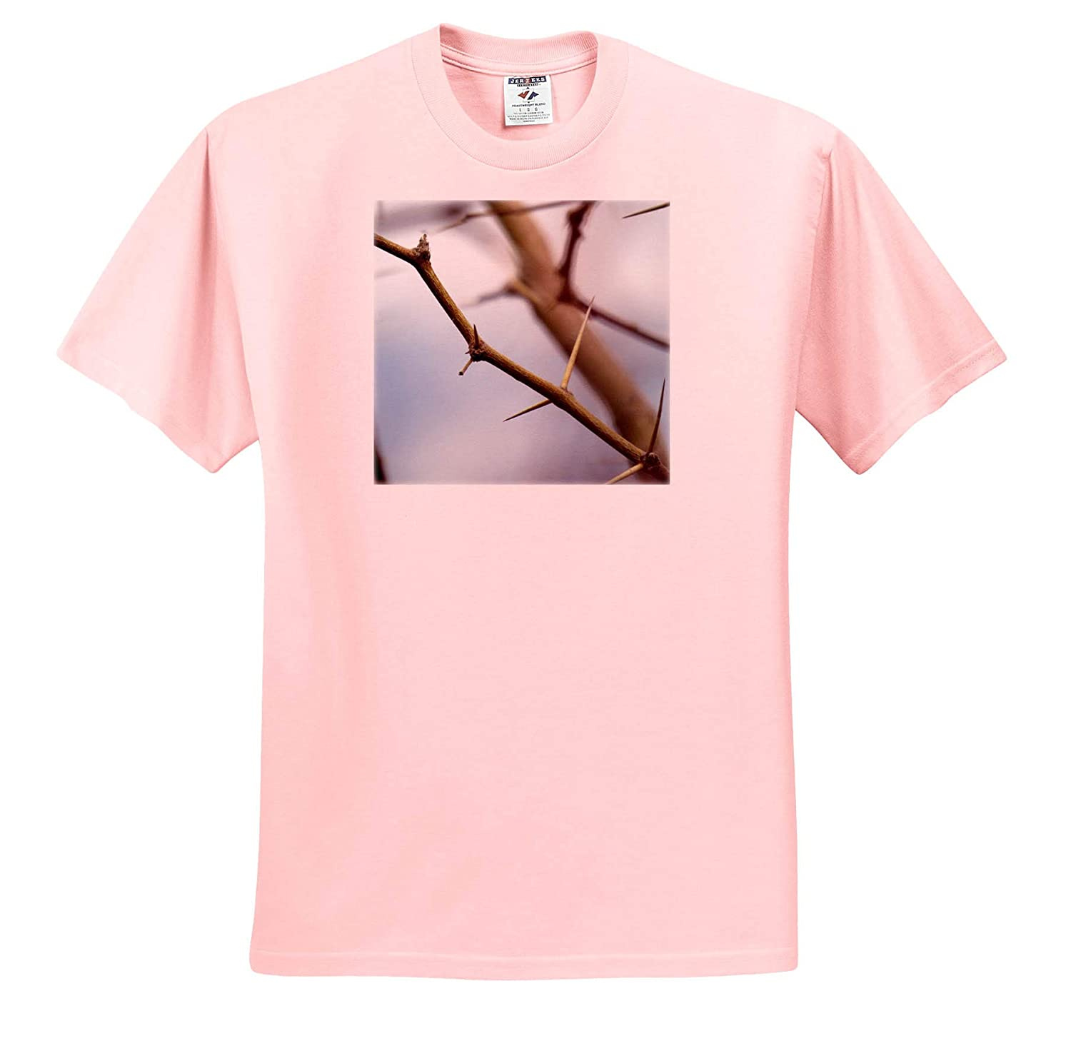 A Branch with Thorns and no Leaves Shot up Close ts/_319612 3dRose Jos Fauxtographee- Branches Adult T-Shirt XL