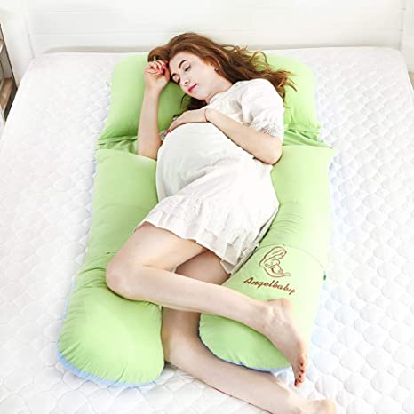 ACZZ Almohada para embarazo Cintura Almohada para dormir ...