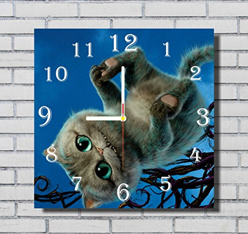 Alice In Wonderland Family Costume Ideas (Alice in Wonderland 11.8'' Handmade Wall Clock - Get unique décor for home or office – Best gift ideas for kids, friends, parents and your soul mates)