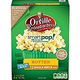 popcorn bags microwave - Orville Redenbacher's SmartPop! Butter Popcorn, Single Serve Bag, 12-Count