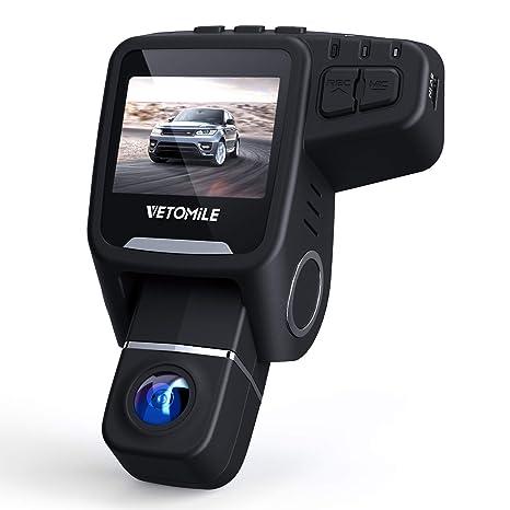 """VETOMILE Cámara de Coche 1080P FHD 2.0"""" LCD Car Dash CAM con Lente Giratorio de"""