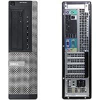 Dell 990 Desktop, Intel Core i5-2500 3.3 GHz, 4 GB DDR3, 320 GB, Windows 10, Negro Reacondicionado (Certified Refurbished)