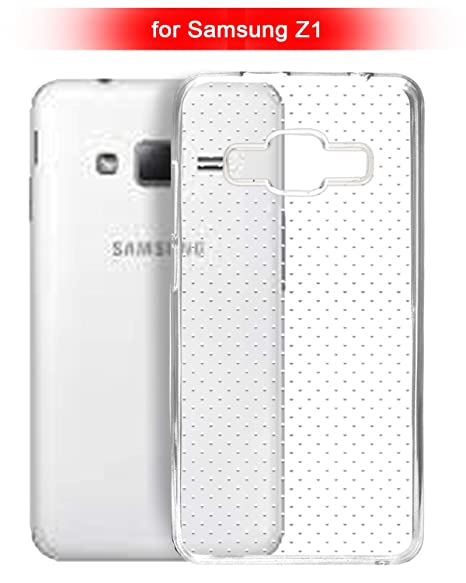 Samsung Z1 Tizen Phone Phone Cover - Dotted Transparent: Amazon in