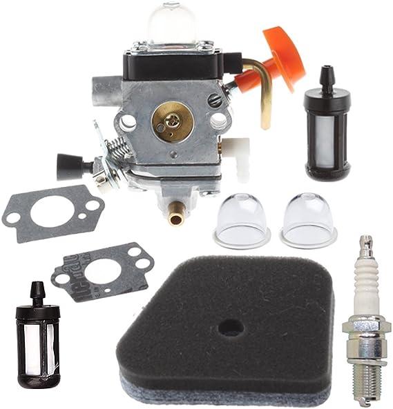 HIPA carburador con filtro de aire Filtro de gasolina bomba de Arranque para desbrozadora Stihl FS90 FS100 FS110 HL90 HL100 HT101: Amazon.es: Bricolaje y herramientas