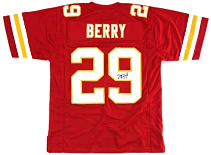 Eric Berry Signed Jersey - Red Custom - Autographed NFL Jerseys at ... 10202df626a2