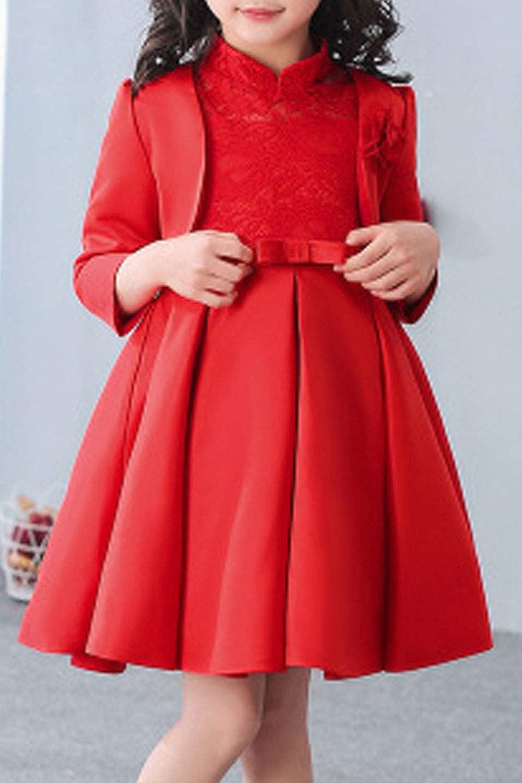 Zara Beez Kids Baby Girls Princess Collar Neck Flower Girl Dress