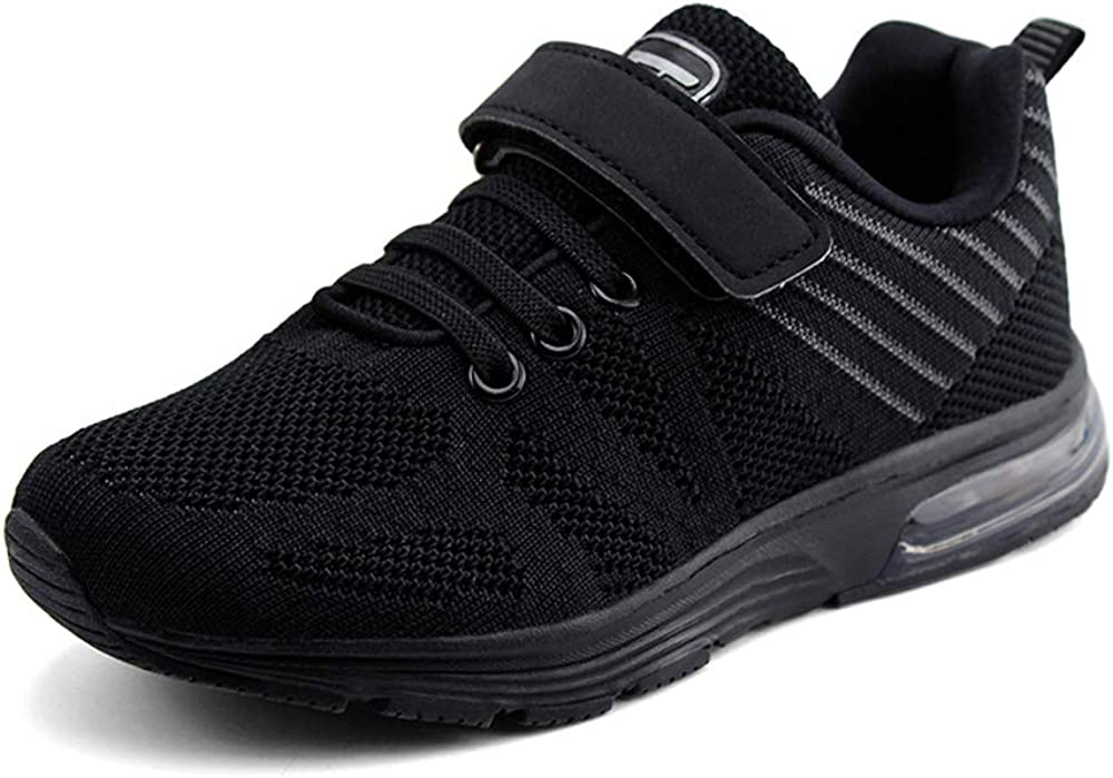 JABASIC Kids Lightweight Air Cushion Running Shoes Boys Girls Athletic Sneakers