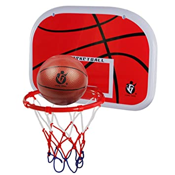 635d1e64b72 Tydow Basketball Hoop with Net Ball Pump Portable Basket Set Indoor Outdoor  Sports Games