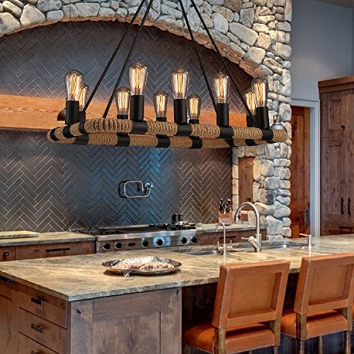 Kitchen Island Lighting Rustic: Kitchen Island Lighting Ideas: Amazon.com