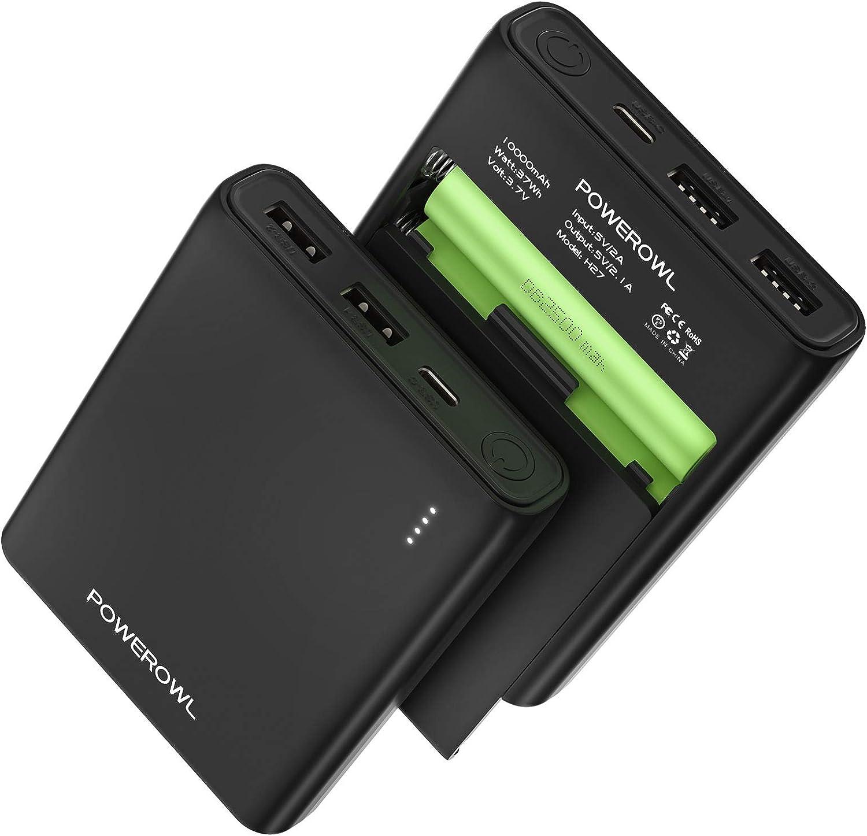2PC 18650 Batterie 6000mAh Low Drain Li-ion Rechargeable Akku USB Ladegerät DE
