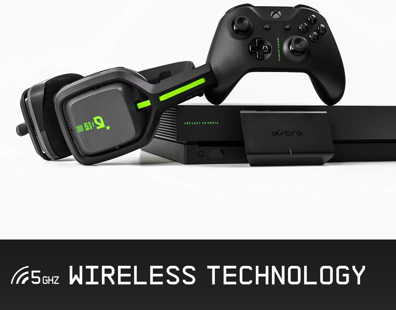 Astro Gaming A20 - Auriculares Gaming Inalámbricos, Astro Audio, Transductores 40 mm, Dolby Atmos/Windows Sonic 3D, 5 GHz, Batería Larga 15 h, Microfóno Volteable para Silenciar, PC/Mac/Xbox One: Amazon.es: Informática