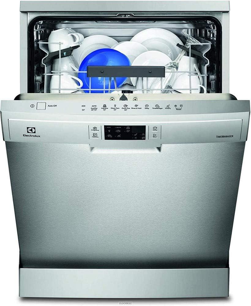 Electrolux ESF5534LOX Independiente 13cubiertos A++ lavavajilla - Lavavajillas (Independiente, Acero inoxidable, Tamaño completo (60 cm), Acero inoxidable, Botones, LCD)