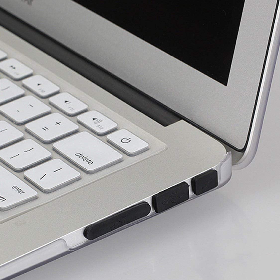 Vige 12 Teile//Satz Professionelle Silikon Anti-Staub-stecker Abdeckung Stopper Laptop Staubdicht USB Staubstecker Abdeckung Set Geeignet F/ür MacBook