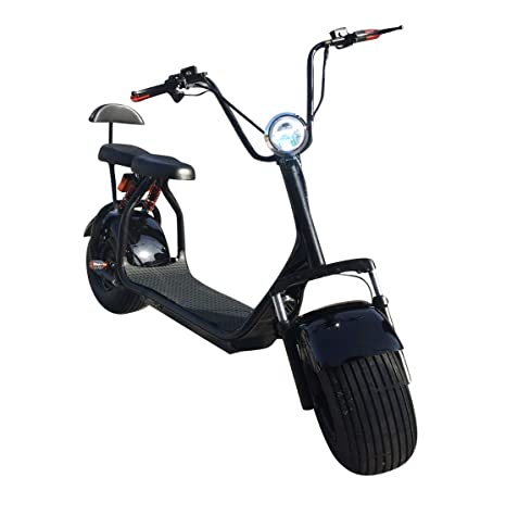 SABWAY® Patinete ELÉCTRICO Chopper | Scooter 1000W Brushless ...