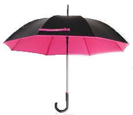 PACK Paraguas Mujer Paraguas Soleados Zero Light UV Alto Estilo Elegante Atmosférico,A:Red