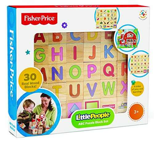 (Fisher Price Laugh and Learn Alphabet and Puzzle Blocks (30 Piece) )