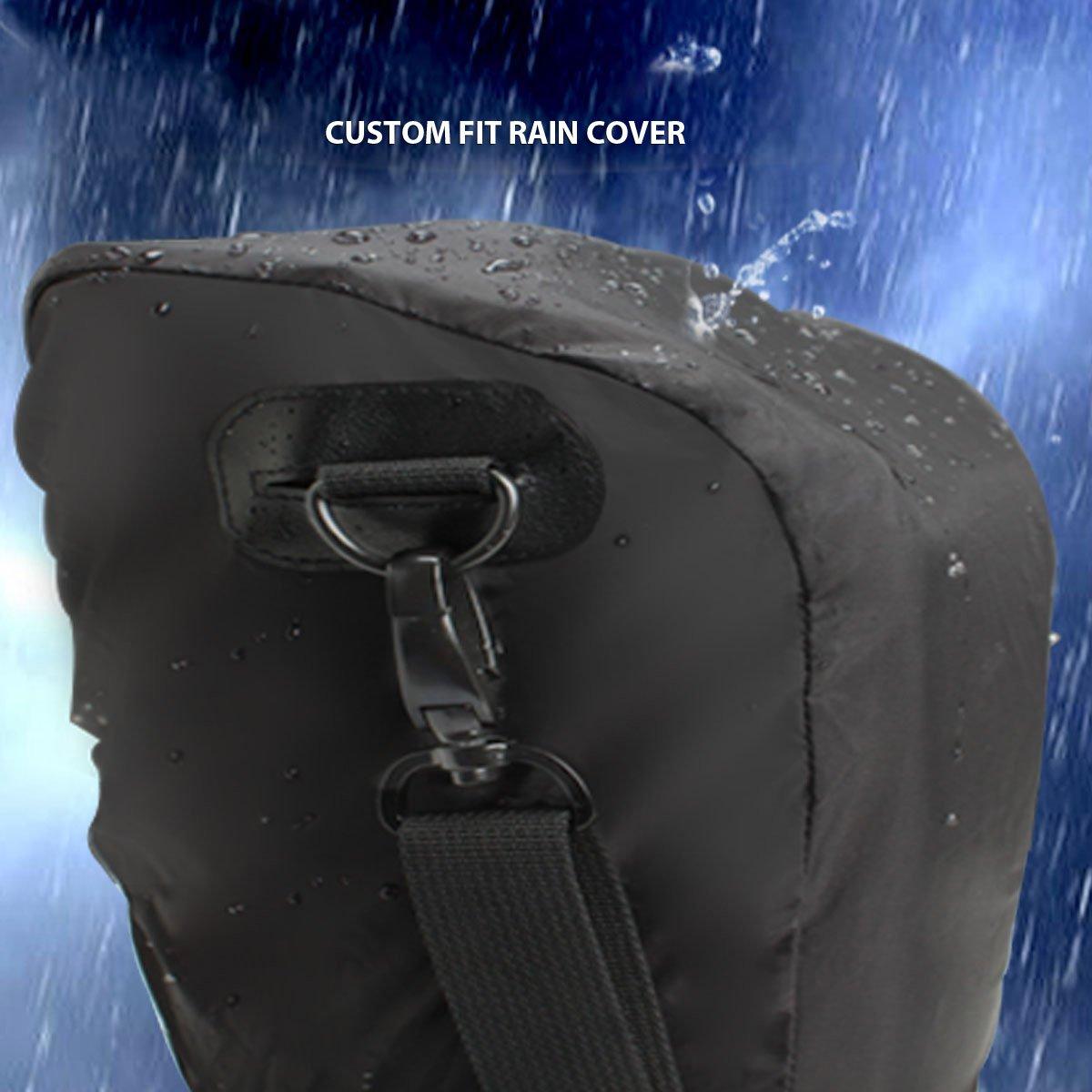 Pentax e Altri USA GEAR Borsa a Tracolla Impermeabile Custodia Fondina Per Fotocamere DSLR SLR con Obiettivi da 18-135mm//18-55mm Per Canon EOS 750D Floreale Nikon D3300 100D