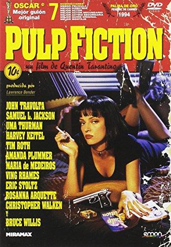 Pulp Fiction [DVD]: Amazon.es: John Travolta, Uma Thurman, Samuel ...