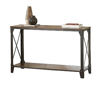 Amazon Com Steve Silver Company Winston Sofa Table Kitchen Dining