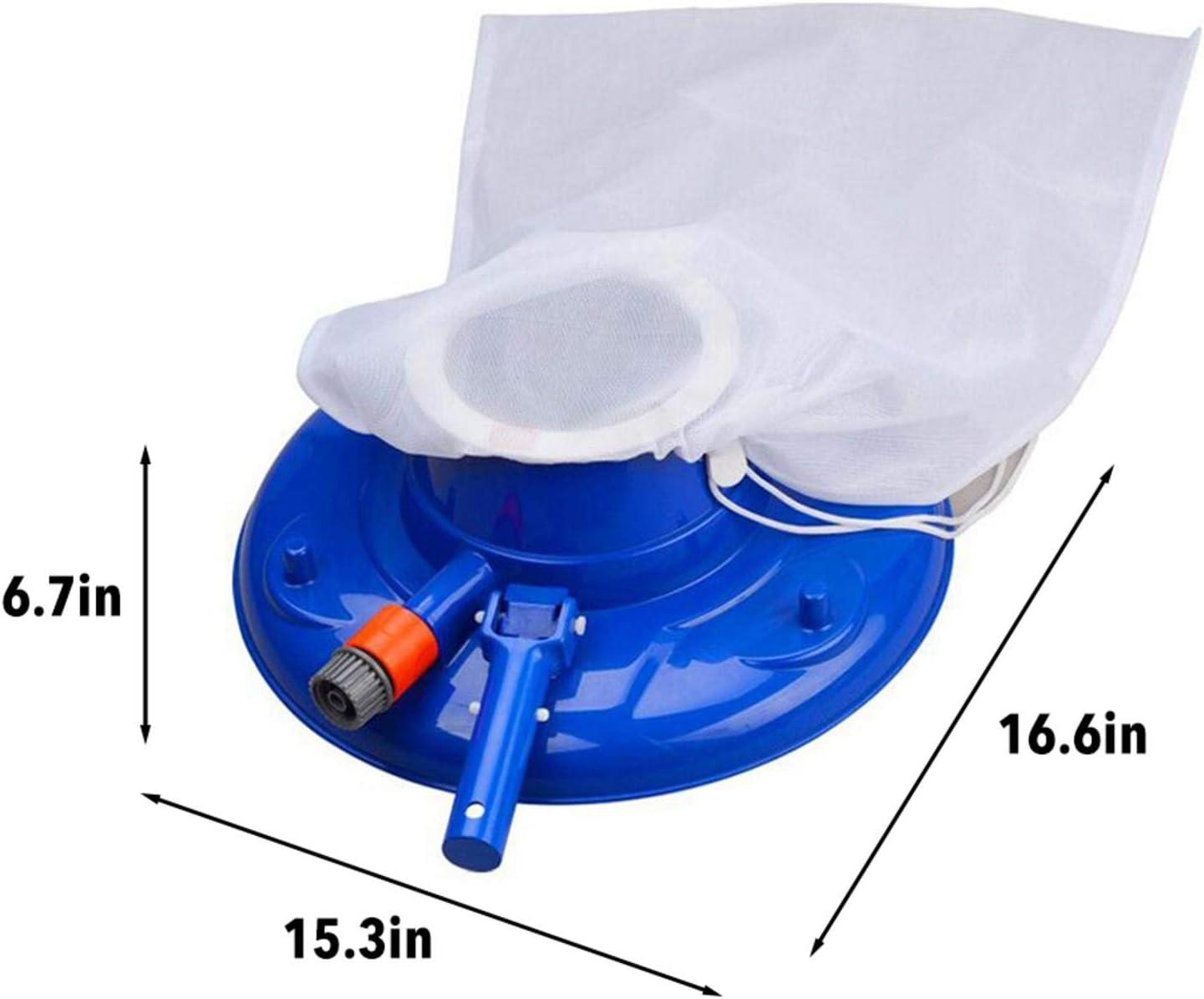 Piscine de nettoyage d/'aspiration Aspirateur Tête De Brosse Nettoyeur Portable Souple Piscine