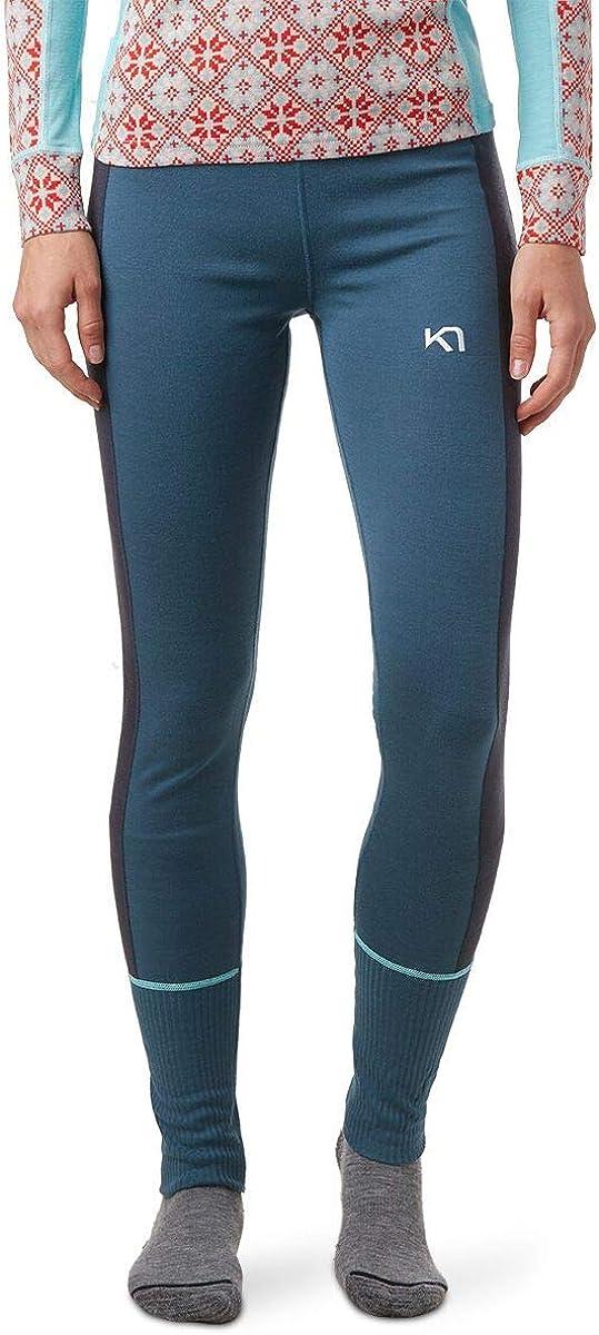 Moisture-Wicking Thermal Pants Kari Traa Womens Perle Base Layer Bottoms