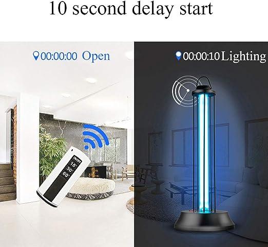 ZHDD Lámpara Esterilización UV, Disinfection Lamp con Ozono ...