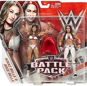 WWE serie 43 Battle Pack Nikki y Brie Bella: Amazon.es: Juguetes y juegos