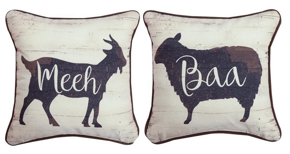 MW Farmhouse Sheep & Goat Jp12 Dtp Pillow 12X12