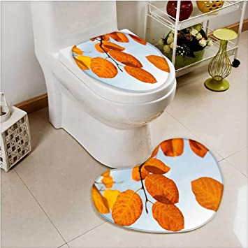 Amazon.com: SCOCICI1588 Printed Bath Heart shaped foot pad ...