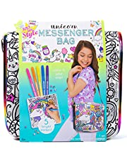 Just My Style Girls Accessory Set by Horizon Group USA,Create Your Own Scrunchies, Bracelets & Pins