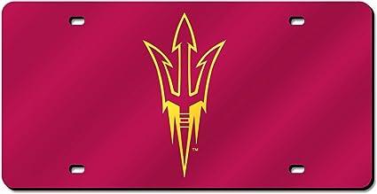 ASU Arizona State Sun Devils Metal License Plate