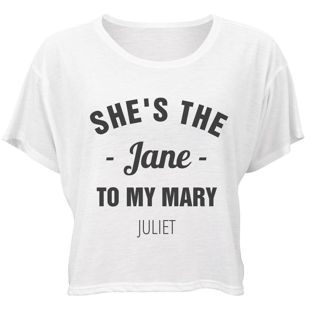 Amazon.com: FUNNYSHIRTS.ORG Matching The Jane To My Mary ...