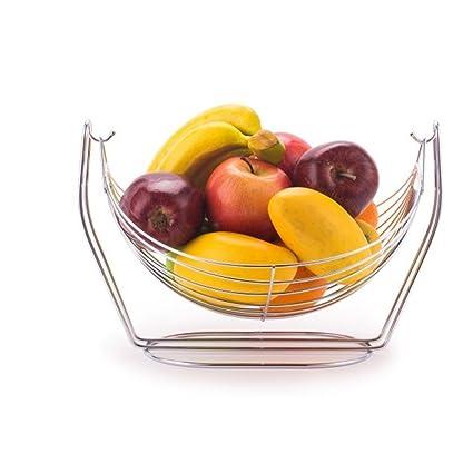 ZAIYI Bandeja De Frutas Cesta De Fruta Casera Bastidores Bandeja De Frutas Bandeja De Frutas Secas