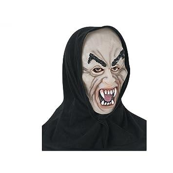 PromMask Mascara Facial Careta Protector de Cara dominó Frente Falso Halloween Fantasmas Monstruos Vampiros Calabazas máscaras